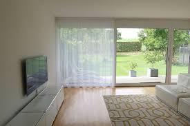 gardine store arbon transparent längsmuster weiss