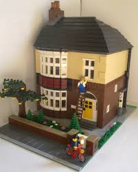 100 What Is Detached House British Semi 1940s This Is A MOC Based On