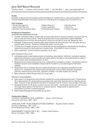 Communication Skills Resume Example Job Examples For Samples Objective