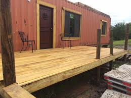 Craigslist Dallas Storage Shed by Couple U0027s 620 Sq Ft Container House In Dallas Tx