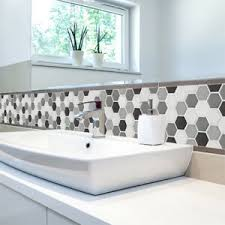 details zu 3d mosaik fliesenaufkleber wandaufkleber küche bad fliesenfolie klebefolie