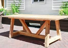 Patio Table Plans Bryan s Site