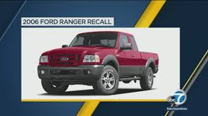 Ford Issues Recall On Some Ranger Trucks | Abc7.com Car Accident Lawyer Ford F150 Pickup Truck Recall Attorney Nhtsa Vesgating Seatbelt Fires May Recall 14 Dodge Hurnews Clutch Interlock Switch Defect Leads To The Of Older Some 2017 Toyota Tacomas Recalled Over Brake Concern Medium Duty Frame Youtube Recalls Trucks Over Dangerous Rollaway Problem Chrysler Replaced My Front Bumper Plus New Emissions For Ram Recalls 2700 Trucks Fuel Tank Separation Roadshow Issues 5 Separate 2000 Vehicles Time Fca Us 11 Million Tailgate Locking