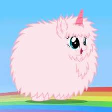 Pink Fluffy Unicorns Dancing On Rainbows Mlp Gif