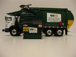 First Gear Waste Management Front Load Garbage Truck W. Bin. - A ...