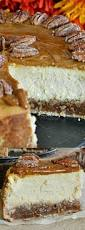 Keebler Double Layer Pumpkin Cheesecake Recipe by Pecan Pie Cheesecake Recipe Pecan Pie Cheesecake Thanksgiving