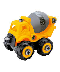 100 Toy Cement Truck Chef Yellow TakeApart Mixer Zulily