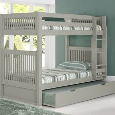 Camaflexi Twin over Twin Bunk Bed with Trundle & Reviews