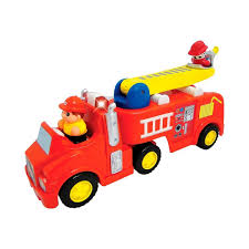 Kiddie Land Fire Truck Ride-on With Functions Toy Car - Red By ... Vintage Style Ride On Fire Truck Nture Baby Fireman Sam M09281 6 V Battery Operated Jupiter Engine Amazon Power Wheels Paw Patrol Kids Toy Car Ideal Gift Unboxing And Review Youtube Best Popular Avigo Ram 3500 Electric 12v Firetruck W Remote Control 2 Speeds Led Lights Red Dodge Amazoncom Kid Motorz 6v Toys Games Toyrific 6v Powered On Little Tikes Cozy Rideon Zulily