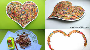 DIY Hearts From Waste Material