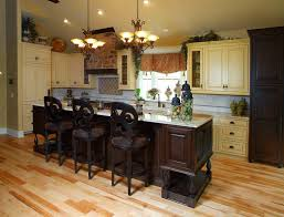 Dark Wood Cabinet Kitchens Colors The Charm In Dark Kitchen Cabinets