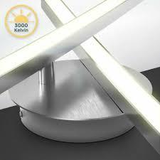 led design deckenleuchte wohnzimmer modern deckenle aluoptik
