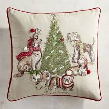 park avenue puppies christmas tree pillow pier 1 imports