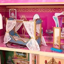 Doll House DIY Conservatory Room With Furniture And Accessories 124
