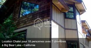 chalet 7 chambres location chalet à big lake iha 34367