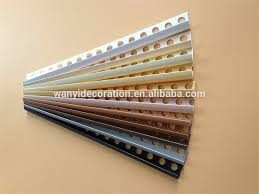 factory direct sale plastic wall tile trim for marble edge or