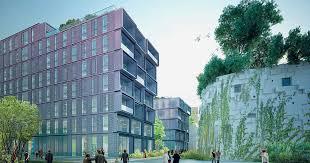 siege social vinci office building in boulogne billancourt vinci