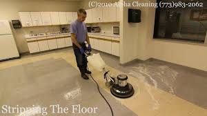 Diversey Signature Floor Finish by Floor Stripping Buffing And Waxing Chicago Youtube