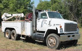100 Utility Service Trucks For Sale 1975 GMC Brigadier Utility Service Truck Item C2739 SOLD