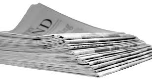 Blank Newspaper Png Transparent Paper Images Stickpng Newspapers Banner Black And White Stock