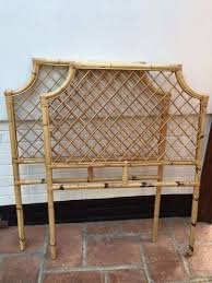 bamboo cane headboards pair 3 foot single bed bedroom ideas