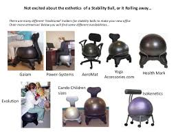 Stability Ball Desk Chair by Advancement In Stability Ball Chairs