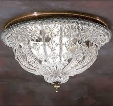 Fancy Crystal Ceiling Chandelier Lighting Fixture Light