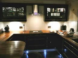 Modern Kitchen Design Accessories Black Wood Shelves Brown Rustic Countertops Stainless Steel