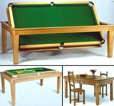 Dining Room Pool Table Combo Canada by This Classy Dining Table Hides A Pool Table Underneath Soooo Cool