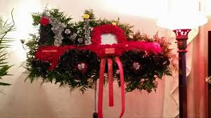 Custom Funeral Flowers By Wallingford CT Truck Red