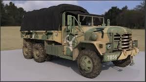 100 Two Ton Truck ArtStation Korea Army Cargo Truck K511 WIP Hyunmin Yoo