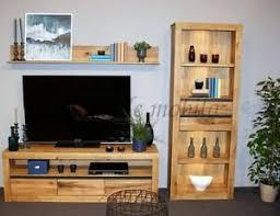 wohnwand naturholz günstig kaufen ebay