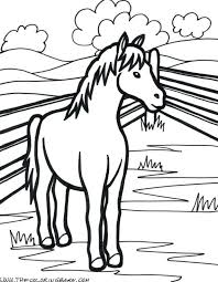 Coloring Pages Animals Farm In Winter Animal Free Realistic