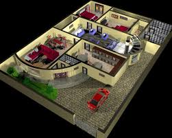 House Plan And Interior Design 3d Model