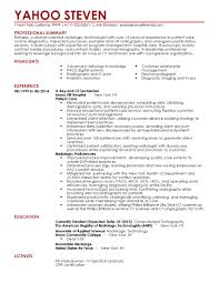X Ray Tech Resume Templates Beautiful Professional Radiologist To Showcase Your Talent