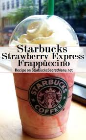 Starbucks Secret Menu Strawberry Express