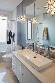 trough sink bathroom bathroom contemporary with double sink gray
