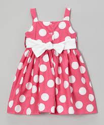 noa lily pink u0026 white polka dot sash dress toddler u0026 girls