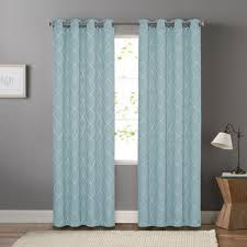 Kohls Grommet Blackout Curtains by Goods For Life Embroidered Trellis Dynasty Window Curtain
