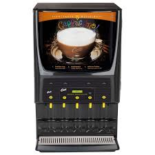 Wilbur Curtis PCGT5 Five Flavor Cappuccino Dispenser