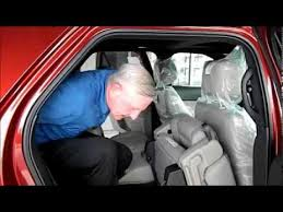 2014 ford explorer 3rd row seating youtube