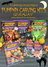 Pumpkin Masters Carving Kit by A Beautiful Ruckus Pumpkin Carving Memories A Giveaway