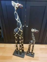 dekofiguren skulpturen statuen im afrikanischen stil