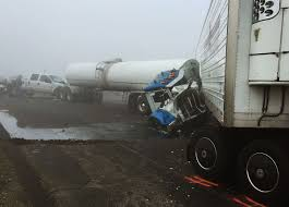 Semi Truck Crash Caused By Foggy Weather On Highway 41, In Kings ... How Improper Braking Causes Truck Accidents Max Meyers Law Pllc Los Angeles Accident Attorney Personal Injury Lawyer Why Are So Dangerous Eberstlawcom Tesla Model X Owner Claims Autopilot Caused Crash With A Semi Truck What To Do After Safety Steps Lawsuit Guide Car Hit By Semi Mn Attorneys Worlds Most Best Crash In The World Rearend Involving Trucks Stewart J Guss Kevil Man Killed In Between And Pickup On Us 60 Central Michigan Barberi Firm Semitruck Fatigue White Plains Ny Auto During The Holidays Gauge Magazine