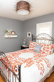 Coral Color Interior Design by Phenomenal Coral Paint Colors Decorating Ideas For Bedroom