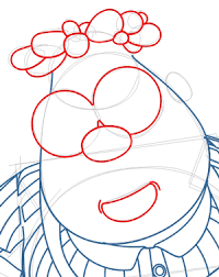 Step 6 Drawing Carl Wheezer From Jimmy Neutron Lesson