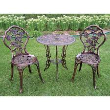 3 Piece Bar Height Patio Bistro Set by Shop Patio Dining Sets At Lowes Com
