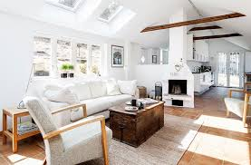 Modern Living Room With Rustic Accents 7