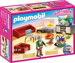 playmobil konstruktions spielset gemütliches wohnzimmer