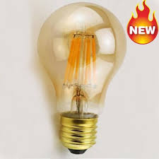 tint led filament bulb dimmable 2w 4w 6w 8w a60 antique